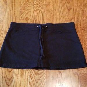 Pants - Black skort
